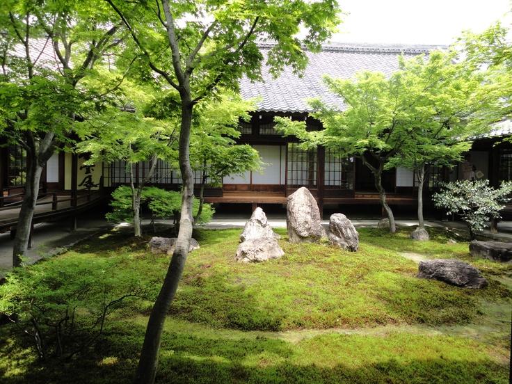 Old Japanese Garden in Kenninji, Kyoto.  It's beautiful.