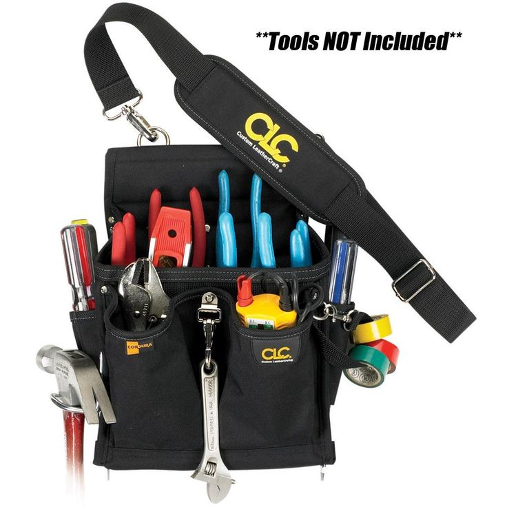 CLC 5508 20 Pocket Pro Electrician's Tool Pouch [5508]