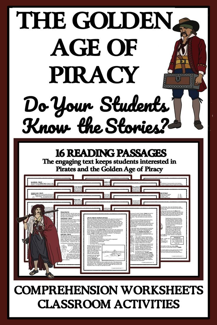 Pin By Lessons Learned By Heart On Pirates Reading Comprehension Activities Reading Passages Reading Comprehension [ 1104 x 736 Pixel ]