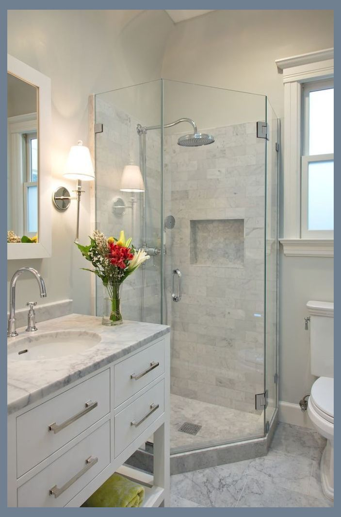 Cool Small Bathroom Shower Remodel Ideas 23 Small Bathroom Remodel Ideas Basic Bathroom Small Bathroom Bathroom Design Small Diy Bathroom Design