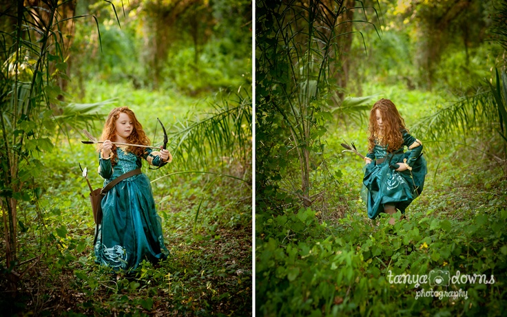 Brave inspired photo session.  Disney Princess.  Princess Merida.  Cosplay.  Children's photography » Blog