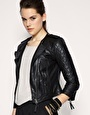 need a good moto jacket...asos $214 not bad for real leather