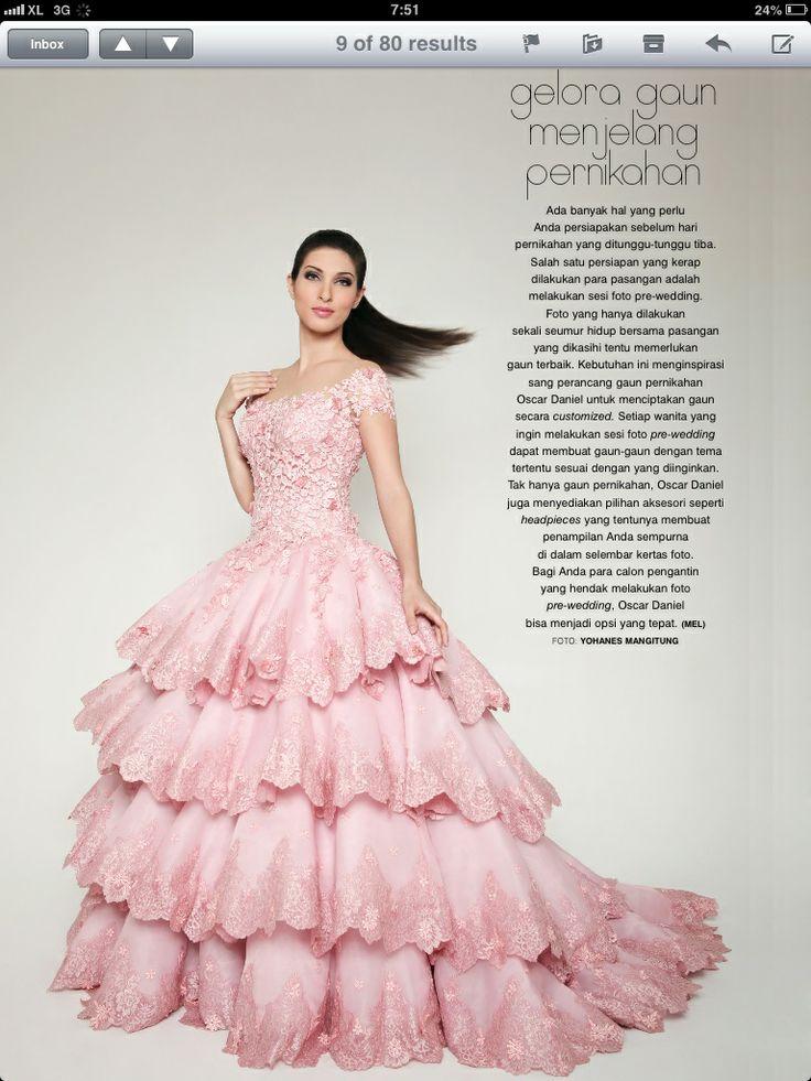 @oscardanielmakeup wedding dress