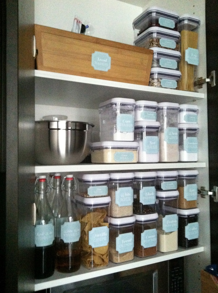 The Social Home Inside Your Pantry Oxo Containers