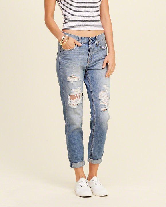 Boyfriend jeans from HOLLISTER