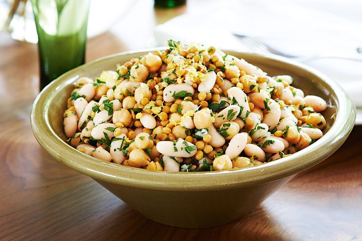 Cannellini bean and lemon salad  Gather around the table for a wonderful Italian banquet to share with friends and family.