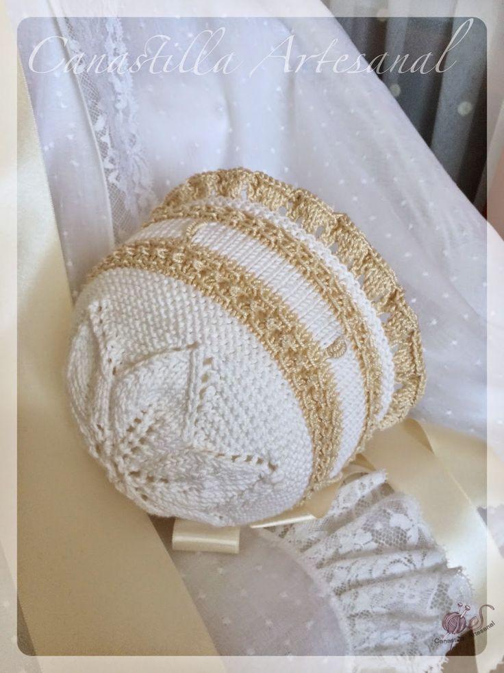M s de 25 ideas fant sticas sobre boinas tejidas en - Canastilla artesanal bebe ...