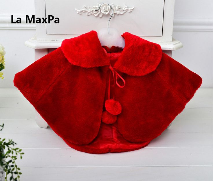 >> Click to Buy << Children girl fur cape infant girls formal princess cape baby plush cloak kids gril dress cape bridesmaids Fur coat Boleros #Affiliate