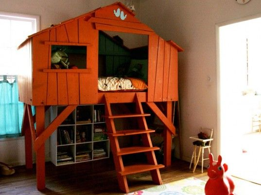 I would have killed for a bed like this when I was little!