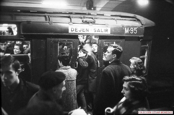 Quién no ha vivido un día como estos en el Metro de Madrid #Tradicionesmadrileñas