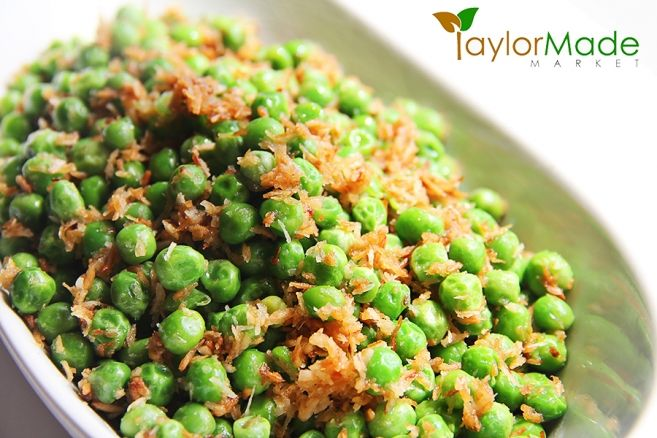 peas and coconut
