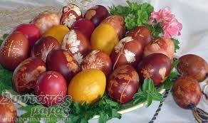 Image result for βαψιμο αυγων με χαρτοπετσετες