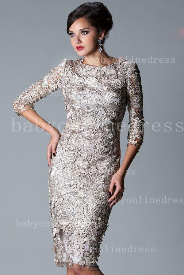 Knee Length 3/4 Sleeve Dress