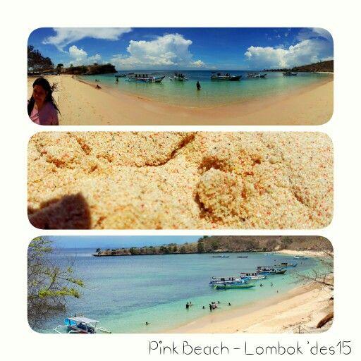 Pink beach - Lombok