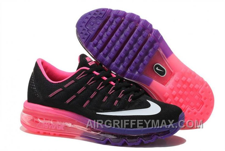 http://www.airgriffeymax.com/nike-air-max-2016-women-mesh-running-shoes-black-purple-pink-new.html NIKE AIR MAX 2016 WOMEN MESH RUNNING SHOES BLACK PURPLE PINK NEW Only $86.00 , Free Shipping!