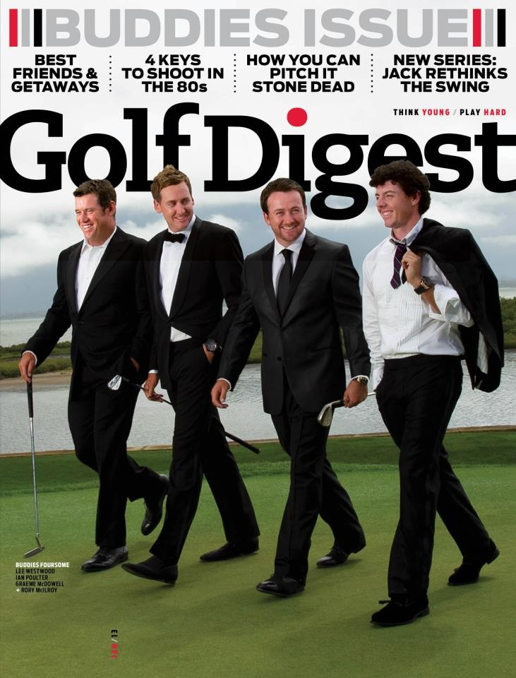 Golf Digest Cover -Hair by Kristan Serafino - SerafinoSays.com