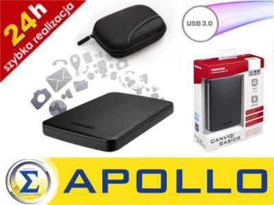 Kup teraz na allegro.pl za 225,00 zł - DYSK ZEWNĘTRZNY 2,5 TOSHIBA 500GB USB 3.0…