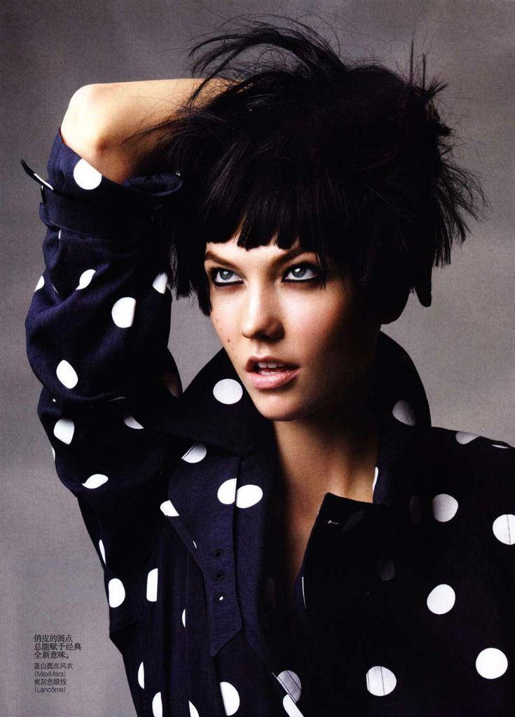 Vogue China May 2011.  Photographer :: Patrick Demarchelier.  Model :: Karlie Kloss. Trench :: Max Mara.