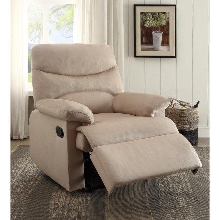 The Arcadia Recliner provides comfort with easy motion. This Arcadia Recliner is perfect for any living room with its contemporary tight, woven padding with the button-less tight back. This recliner features Acme Furniture, Living Room Furniture, Diy Furniture, Furniture Chairs, Room Chairs, Benz, Wall Hugger Recliners, Glider Recliner, Best Recliner Chair