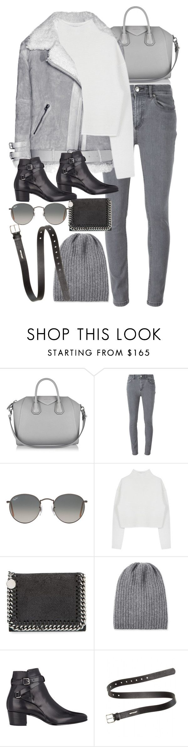 """Untitled #8443"" by nikka-phillips ❤ liked on Polyvore featuring Givenchy, Marc by Marc Jacobs, Ray-Ban, Dion Lee, STELLA McCARTNEY, Inverni, Yves Saint Laurent, Acne Studios, women's clothing and women's fashion"