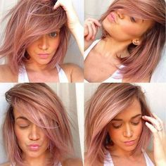 10 hele warme bob kapsels in de fantastische blorange kleur! - Kapsels voor haar