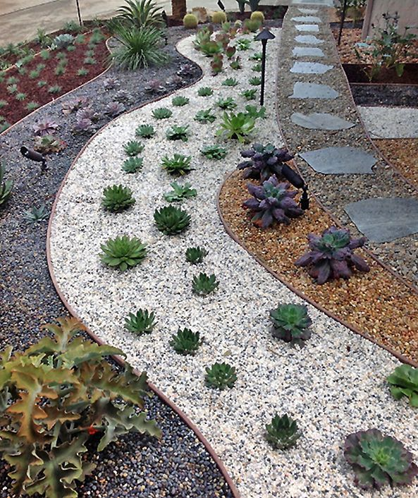 This Low Maintenance Landscape Creates A Lot Of Interest With The