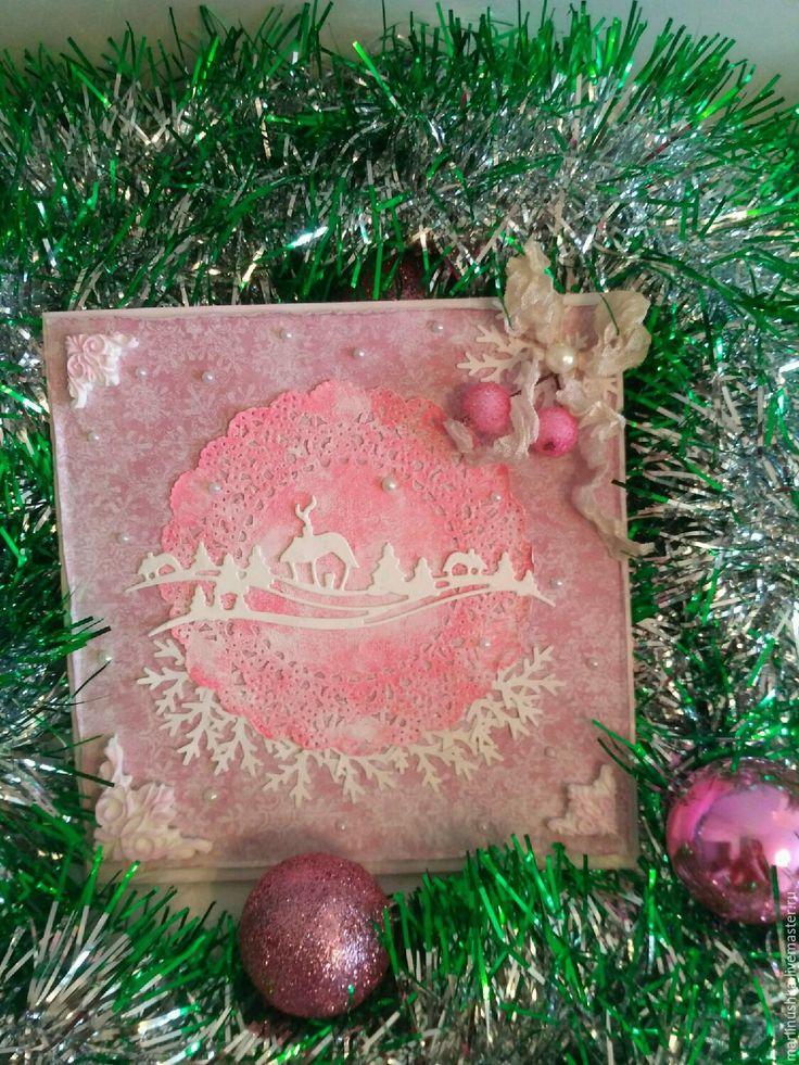 Купить Новогодняя открытка - открытка с новым годом, Открытка на новый год, открытка к новому году