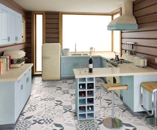 41 best PVC Carreaux de Ciment images on Pinterest Sevilla - pvc fliesen küche