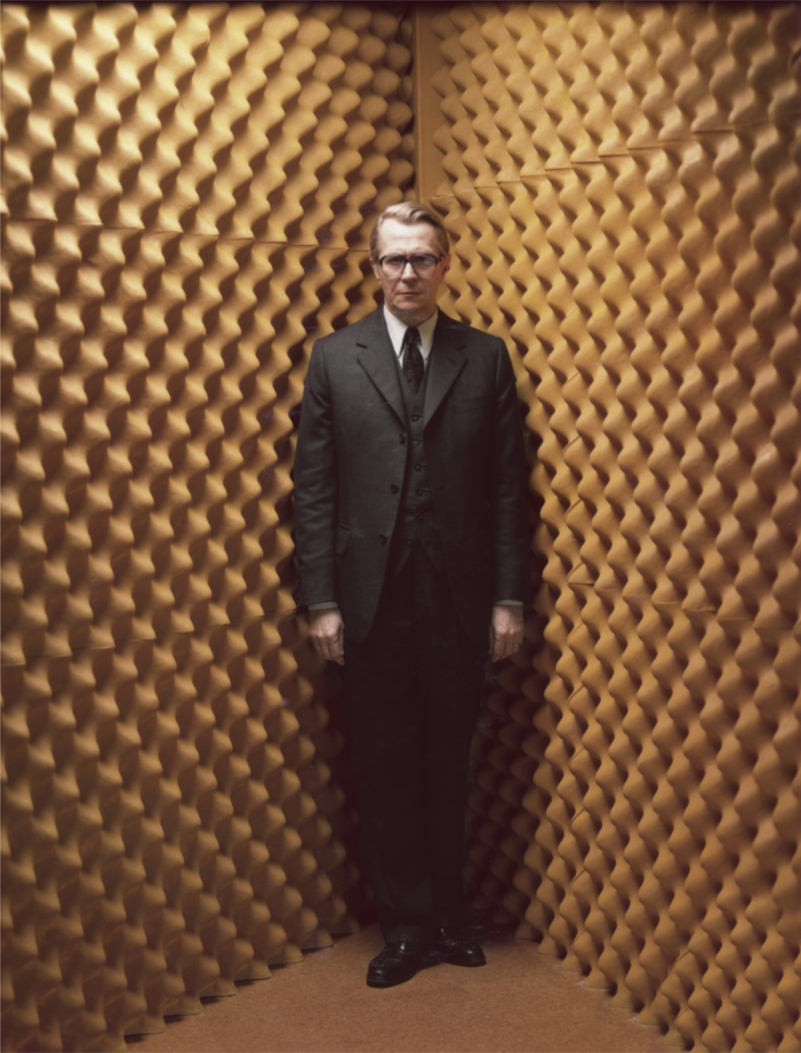 Gary Oldman as George Smiley - As good as Guinness? A great performance nonetheless in Tinker Tailor! I would love a sequel.