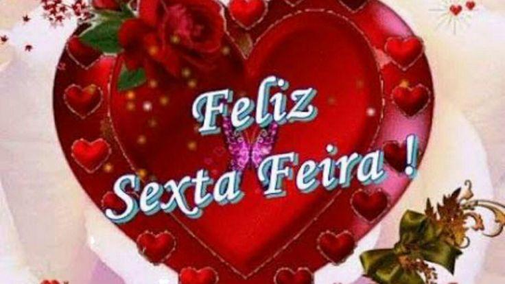 Mensagem Feliz Sexta Feira - Uma linda e abençoada Sexta Feira para você...