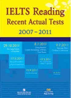 Ielts Reading Recent Actual Tests Pdf