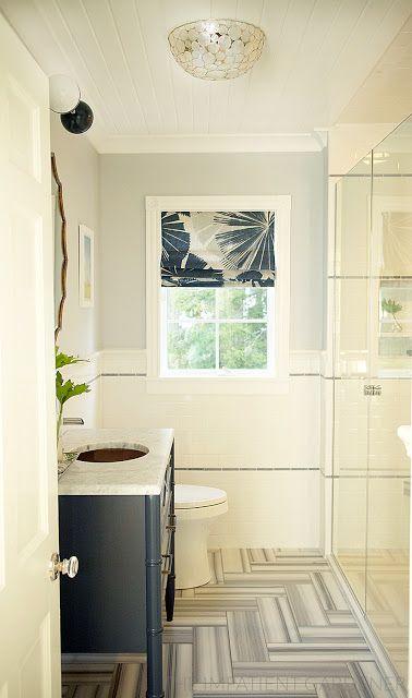 bright white bathroom | The Impatient Gardener