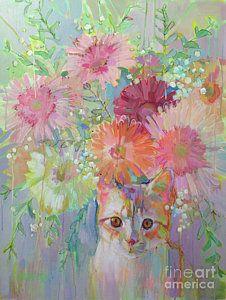 Painting - Hobbes by Kimberly Santini