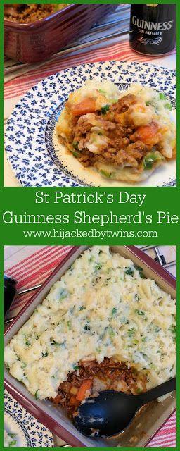 Hijacked By Twins: St Patrick's Day Guinness Shepherd's Pie