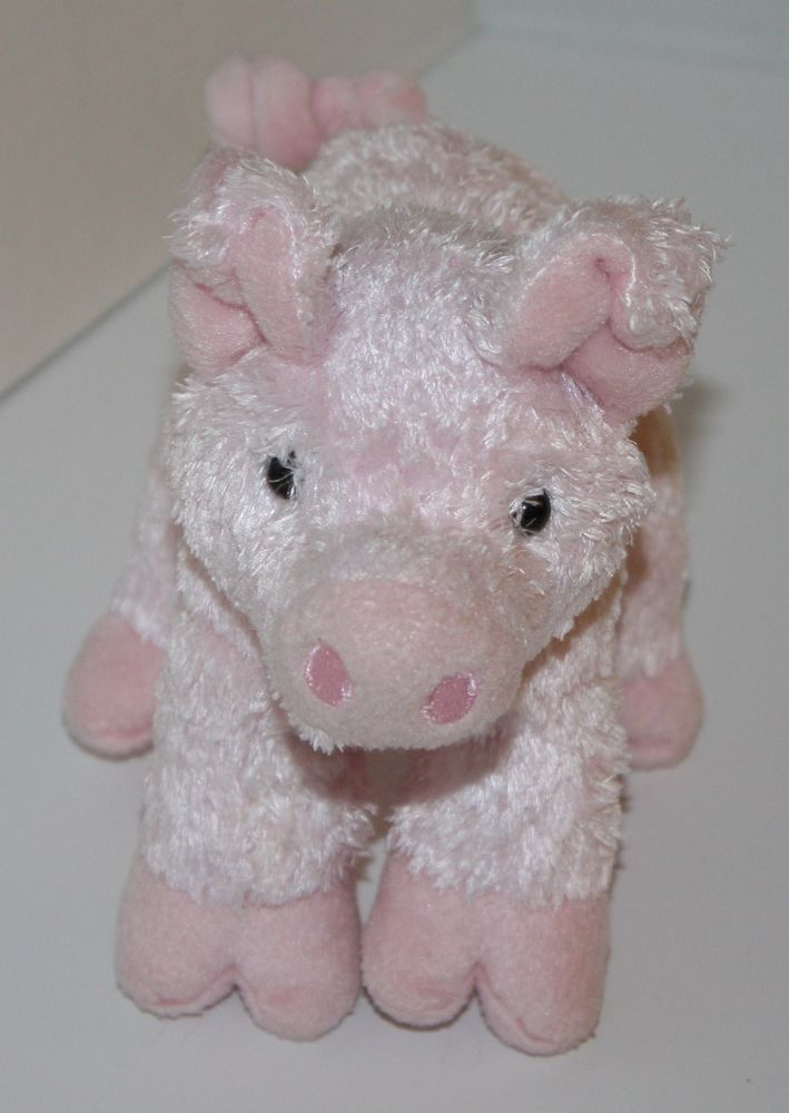 Douglas Pink Pig Hambone Plush Stuffed Animal Soft Lovey