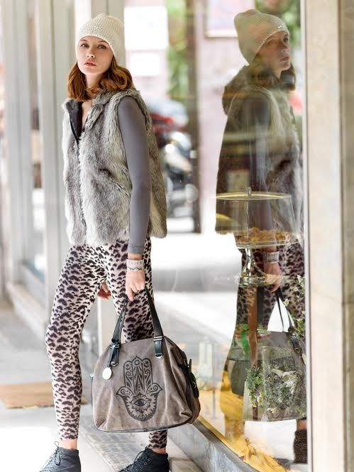 Mix different prints and materials on your look and create mix and match outfits. Find out more at www.achilleasaccessories.gr