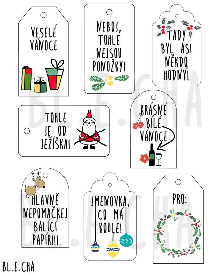 Vánoční+visačky+k+tisku+Naprosto+originální+visačky+na+vánoční+dárky,+které+v+obchodě+rozhodně+nekoupíte.+Po+obdržení+peněz+na+účet zasílám+elektronicky+samozřejmě+bez+vodoznaku (nejpozději+do+tří+dnů)+ve+formátu+PDF+a+navíc+příkládám+soubor+PNG+a+JPEG,+můžete+si+tedy+vytisknout+neomezené+množství+cedulek+na+libovolný+papír+a+v+libovolné+velikosti....