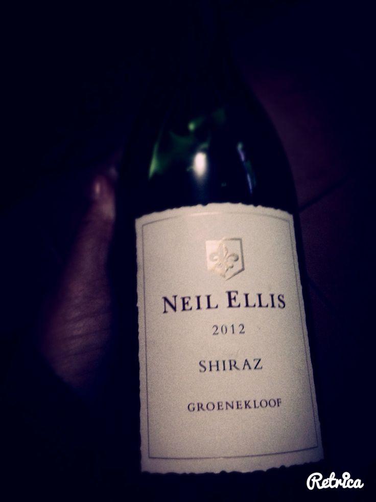 Neil Ellis 2012  Lovely enjoyable wine*