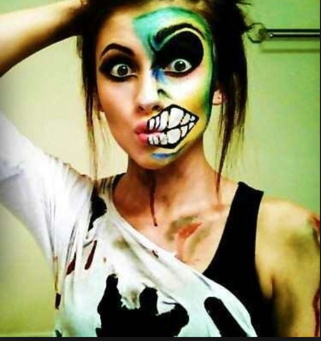 35 best Awesome makeup images on Pinterest | Make up, Costume and ...