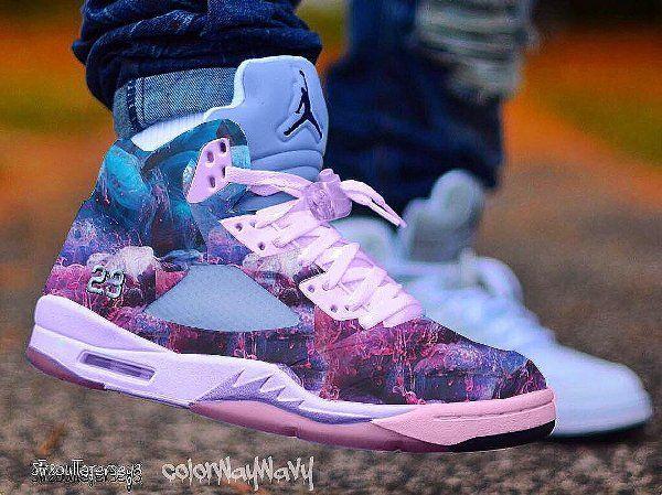 La Air Jordan 5 'Dirty Sprite' et 17 autres sneakers revistées par Colorwaywavy post image