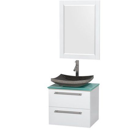 Wyndham collection amare espresso 30 inch single bathroom vanity with - 17 Best Ideas About Glass Countertops On Pinterest