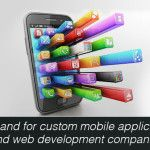 The exclusivity of a website is in trend these days and that is why there is a rise in demand for custom mobile applications and web development.