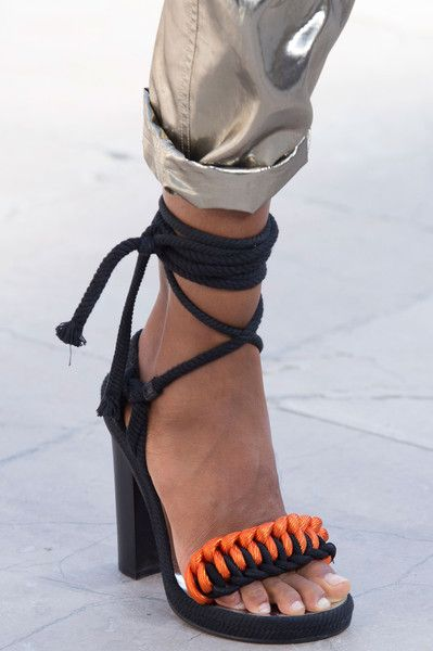 Isabel Marant at Paris Fashion Week Spring 2016 - Livingly #shoes #style #fashion