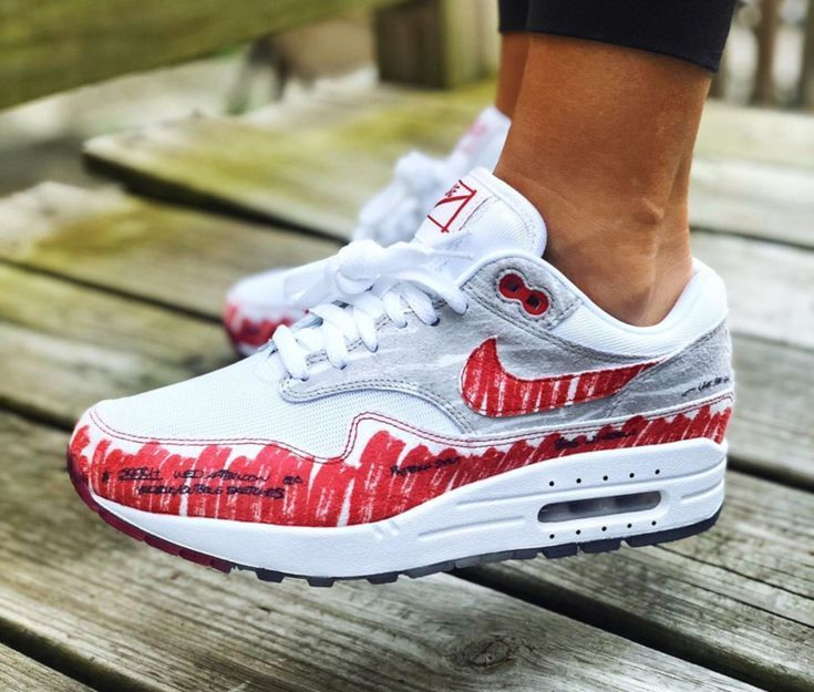 Nike Air Max One University Red Neutral Grey Tinker Hatfield 2019 Air Max One Nike Air Max Nike Air