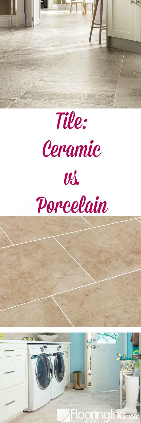 Tile: Ceramic vs. Porcelain