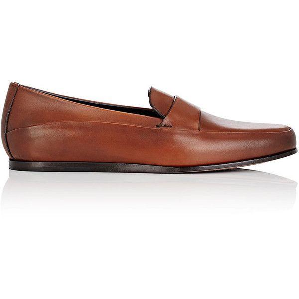 Ermenegildo Zegna Men's Panama Loafers mens brown loafers.
