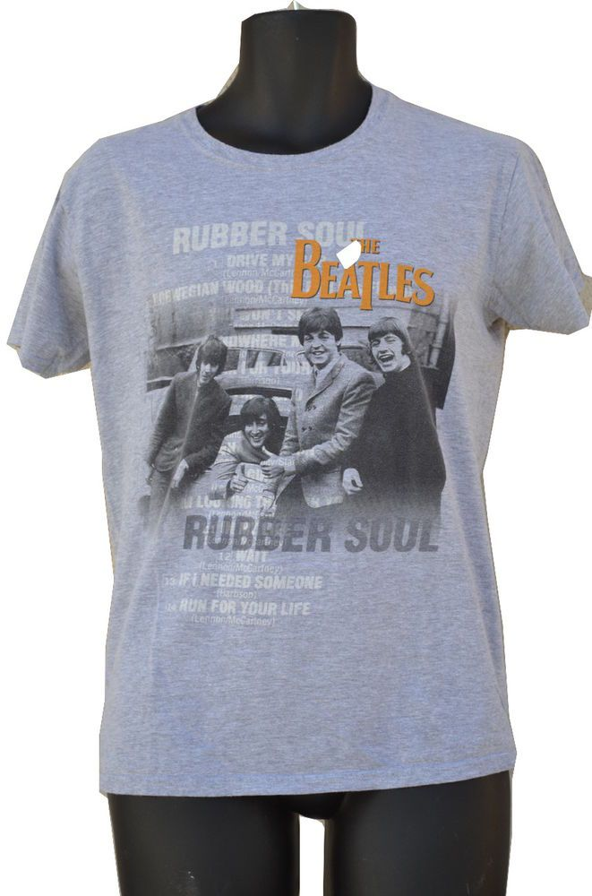 The Beatles 2009 Apple Corps Limited Tshirt official licensed Rubber Soul   #AppleCorps #ShortSleeve