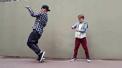 Merrick and Poppin John -- Freestyle Popping -- Dancing - YouTube