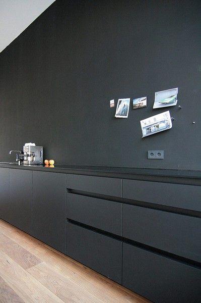MO+ Architects doing the ultimate minimalist kitchen