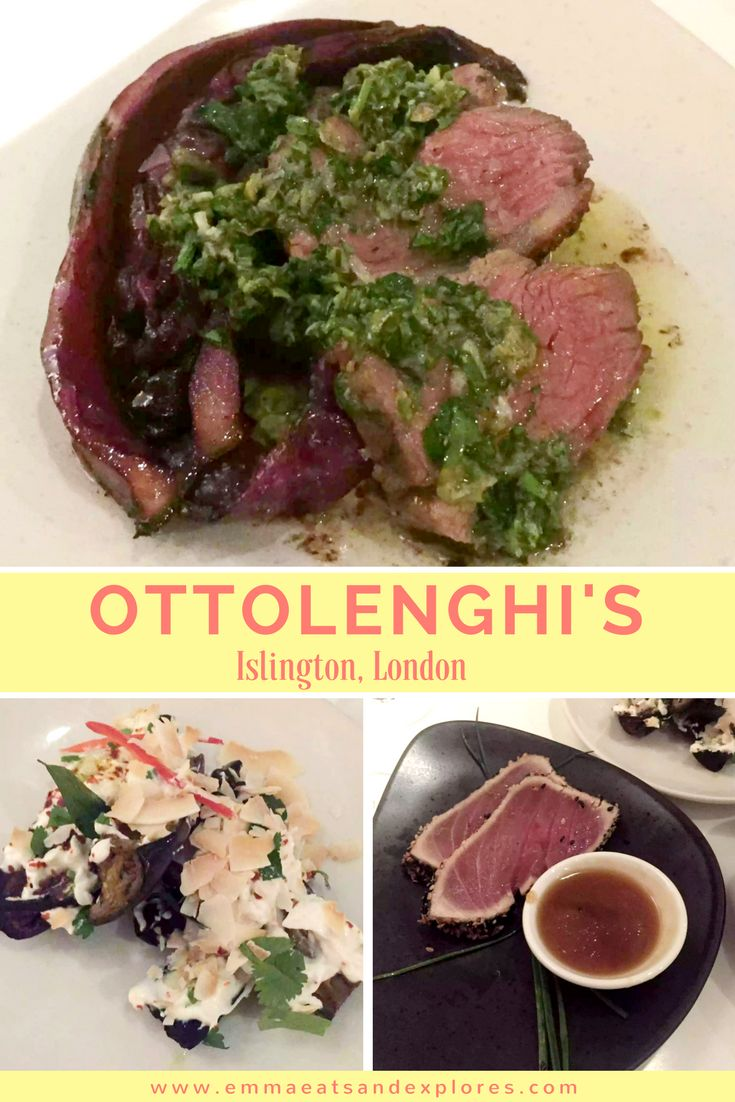 Ottolenghi Restaurant Islington by Emma Eats & Explores